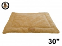 Ellie-Bo Beige Sherpa Fleece Cage Mat to fit Ellie-Bo 30 inch Dog Cage